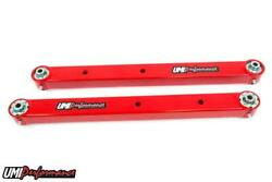 Umi 78-88 Regal El Co G-body Rear Boxed Lower Control Arms Dual Roto Joint Red