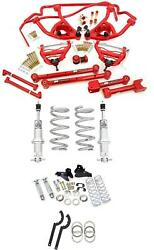 UMI 64-72 GM A-Body Chevelle Suspension Kit Coilovers Sway Bar Control Arms