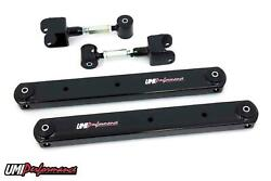 Umi 68-72 Gm A-body Chevelle Boxed Lower / Adjustable Upper Control Arms