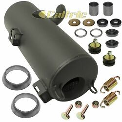 Exhaust Silencer And Kit For Polaris Sportsman 800 Forest 2012 2013 W/donuts
