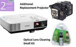 Epson PowerLite 1975W LCD Projector V11H621020 Extra Lamp PKG