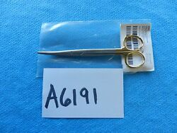 Jarit Surgical 6-3/4in 171mm Curved Carb Edge Mayo Scissors 101-222 New