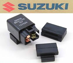 New Suzuki Relay Assembly Fuel Stand Fan Off Fits Many Bikes See Notes P116