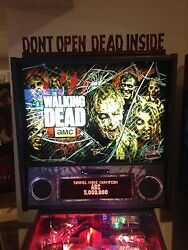 Stern Pinball Walking Dead Pro / Le Topper Infected