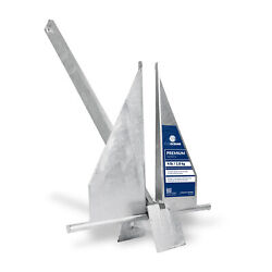 Traditional Danforth Style Fluke Anchor Hot Dipped Galvanized Steel 4lb Fo-3939