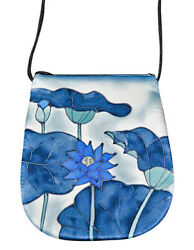 Hand-Painted Silk Perfume Bag Sachet Crossover Unique Designs Invisible World