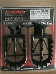Yamaha Yz 125 Yz125 1999-2020 Drc Wide Foot Pegs Foot Rests Mid Standard