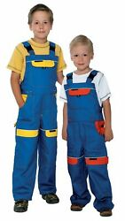 Kids Bib and Brace ,dungarees boys work Trousers Children Overalls pants