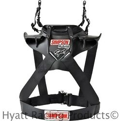Simpson Jr./child/youth Hybrid Sport Head And Neck Restraint - Sfi Approved