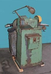 Carboloy 10 Double End Tool Grinder, Model48 With Dust Collector
