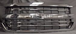 84056776 2016-2018 Chevrolet Silverado 1500 Oem Chrome Grille New