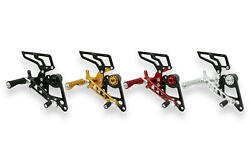 Cnc Racing Rearsets For Rider Only For Ducati Hypermotard 796 1100 /s/evo/sp