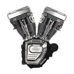 T124 S&S TWIN CAM ENGINE HARLEY DAVIDSON® BLACK 07-UP TOURING 640 CAMS