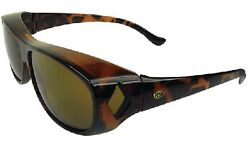 New Over-the-top Sunglasses Yachterand039s Choice 45134 Brown Lens M Tortoise