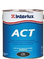 New Fiberglass Bottomkote Act With Slime Fighter Interlux Y5590u/1 Green Gallon