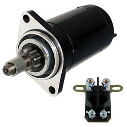 Starter And Relay Solenoid For Seadoo Sp 580 1989 1990 1991 1992 1993 1994