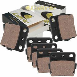 Front And Rear Brake Pads For Honda Trx400ex Sportrax 400ex 2001-2008