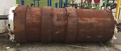 """Jacketed Steel Tank, 950 Gallons, 48"""" Od, 3 Section External Heating Jacket"""