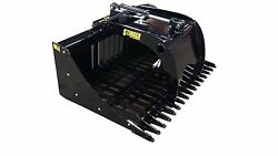 48 Skid Steer Single Grapple High Quality. Compact Tractor Low Shipping