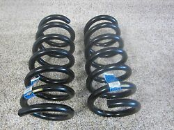 2015 - 2017 Ford Mustang Gt Oe Rear Suspension Coil Springs Fr3c-5560-bc 72-8n
