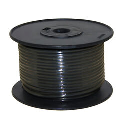 Wire 16 Awg Black 100ft Roll Ul Fine Strand Tinned Copper