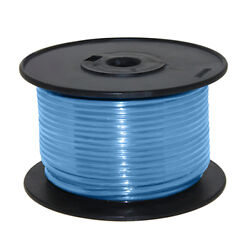 Wire 16 Awg Lt Blue 100ft Roll Ul Fine Strand Tinned Copper
