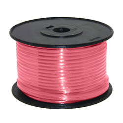 Wire 14 Awg Pink 100ft Roll Ul Fine Strand Tinned Copper