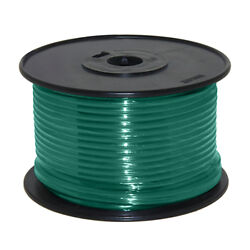 Wire 14 Awg Green 100ft Roll Ul Fine Strand Tinned Copper