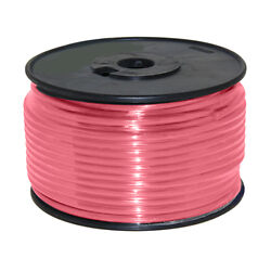 Wire 12 Awg Pink 100ft Roll Ul Fine Strand Tinned Copper