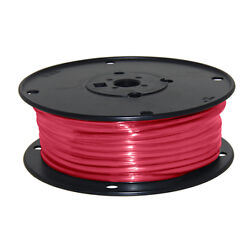 Wire 10 Awg Red 100ft Roll Ul Fine Strand Tinned Copper 100c Dry 75f Wet 600v