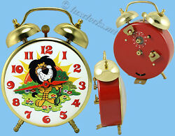Vintage Lion 1960and039s/70and039s Lux Alarm Clock
