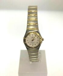Omega Constellation Lds 18ky And Stainless Steel