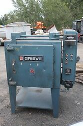 GRIEVE MODEL AA-500 ELECTRIC OVEN MAX 500F 460V