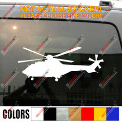 Eurocopter As332 Super Airbus Helicopters H215 Vinyl Decal Bumper Sticker