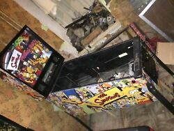 The Simpsons Pinball Party Pinball Machine Cabinet Full Decal Set