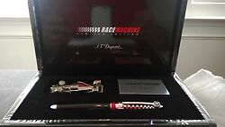S.t Dupont Limited Streamline Race 500 Roller Ball Pen And Paper Weight 252680rm