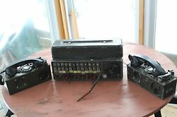 SIGNAL CORPS MILITARY SURPLUS SB-22 SWITCHBOARD TA-312 RADIO FIELD PHONE PRC GRC