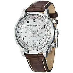 Baume And Mercier Capeland Auto Chronograph Gents Watch 10082 - Rrp Andpound3100 - New