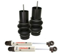 Ridetech 88-98 Chevy C1500 Truck Coolride Front Air Spring Shock For Oe Arm