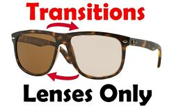 TRANSITIONS BROWN RB4147 Anti Glare Replacement Lenses Ray Ban 60mm 56mm