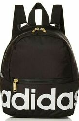 ADIDAS Unisex Linear MINI Backpack White Black 8.5