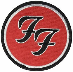 Foo Fighters Logo Iron On Patch 3 1/2 Licensed Candd P-0392 Free Shipping