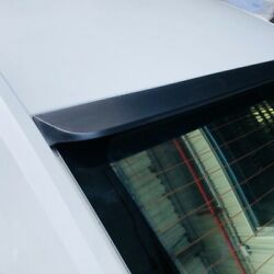 Flat Black 229 Rrs Type Rear Roof Spoiler Wing For 0713 Bmw E92 3-series Coupe