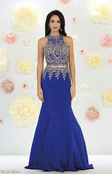 New Mermaid Prom Formal Gowns Red Carpet Special Occasion Evening Stretchy Dress