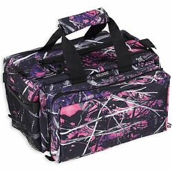Bulldog Cases Deluxe Muddy Girl Range Bag with Strap CamoBlack