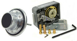 Lagard Combination Lock Lg3330 With Lg1777 Dial And Ring Set Satin Chrome