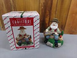 Christmas Around The World Toe-tappin Santa Claus Musical In Box House Of Lloyd