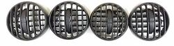 02-07 Jeep Liberty KJ SUV Front Center Dash Vent Heater AC Air - Set of 4 vents