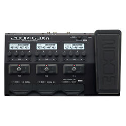 Zoom G3XN Guitar Multi-Effects Processor Footswitch w Built-In Expression Pedal