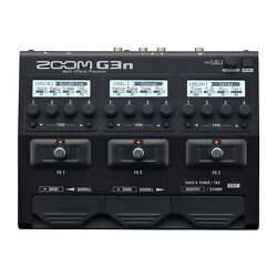 Zoom G3N Guitar Multi-Effects Processor Pedal Footswitch w Amp Cab DSP Models